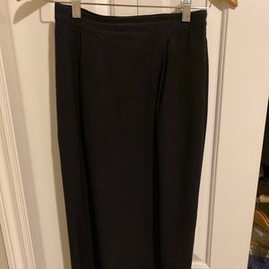 Liz Claiborne long black maxi skirt